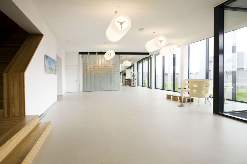 Bekkering Adams Architecten - Schuurman - interieur haal